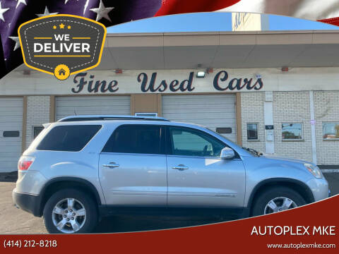 2008 GMC Acadia for sale at Autoplexwest in Milwaukee WI
