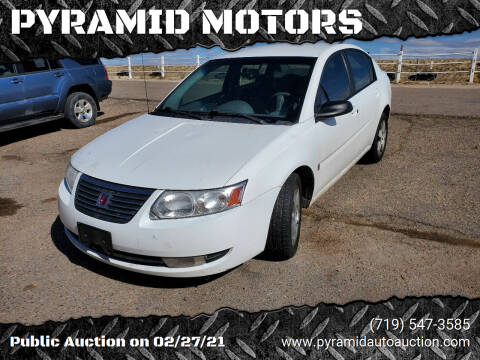 2007 Saturn Ion for sale at PYRAMID MOTORS - Pueblo Lot in Pueblo CO