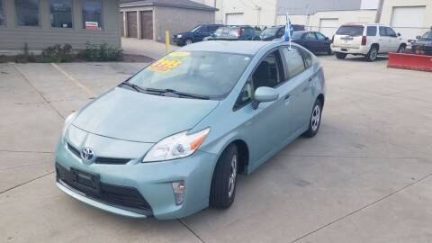 2013 Toyota Prius for sale at Kenosha Auto Outlet LLC in Kenosha WI