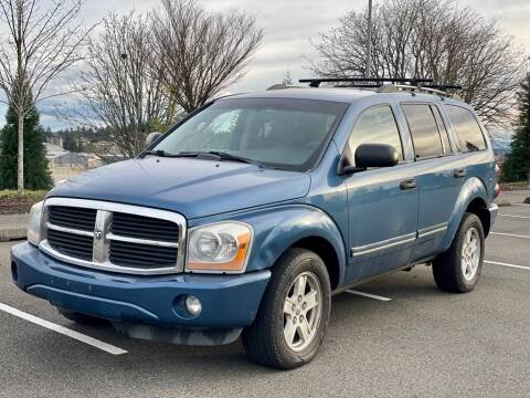 2006 Dodge Durango for sale at Q Motors in Tacoma WA