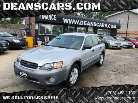 2005 Subaru Outback for sale at DEANSCARS.COM in Bridgeview IL