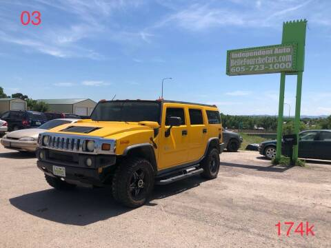 2003 HUMMER H2 for sale at Independent Auto in Belle Fourche SD