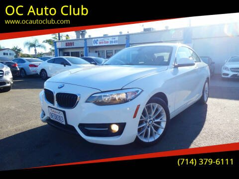 2016 BMW 2 Series for sale at OC Auto Club in Midway City CA