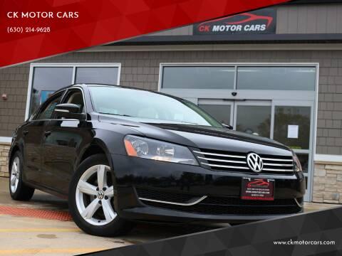 2014 Volkswagen Passat for sale at CK MOTOR CARS in Elgin IL