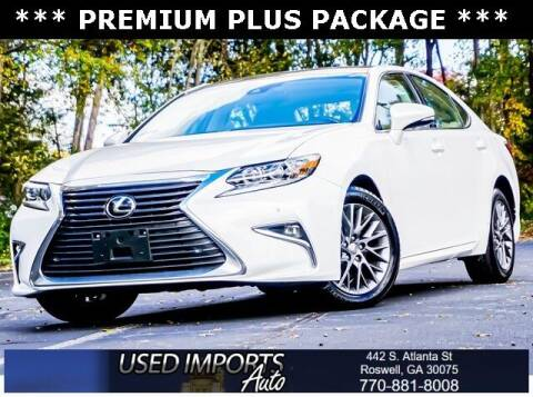 2018 Lexus ES 350 for sale at Used Imports Auto in Roswell GA