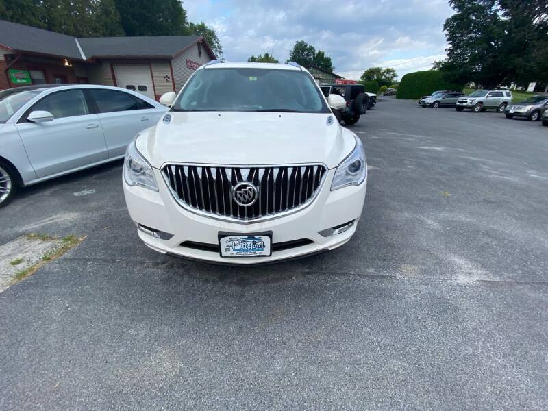2015 Buick Enclave for sale at Pittsford Automotive Center in Pittsford VT
