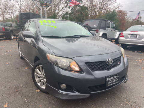2009 Toyota Corolla for sale at Jimmy Jims Auto Sales in Tabernacle NJ