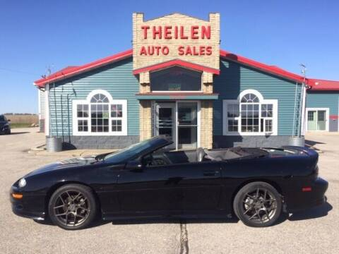 1998 Chevrolet Camaro for sale at THEILEN AUTO SALES in Clear Lake IA