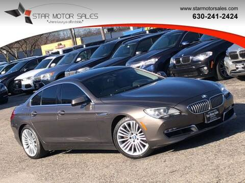 2013 BMW 6 Series for sale at Star Motor Sales in Downers Grove IL