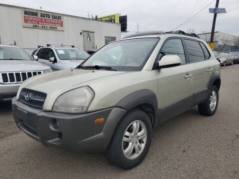 2006 Hyundai Tucson for sale at MENNE AUTO SALES in Hasbrouck Heights NJ