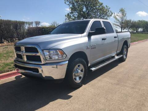 2015 RAM Ram Pickup 2500 for sale at Taylor Investments in Plano TX