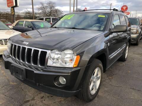 2005 Jeep Grand Cherokee for sale at RJ AUTO SALES in Detroit MI