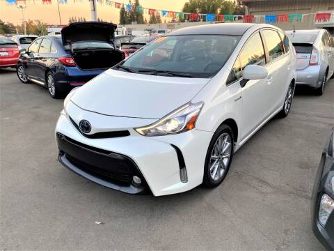 2017 Toyota Prius v for sale at TOP QUALITY AUTO in Rancho Cordova CA