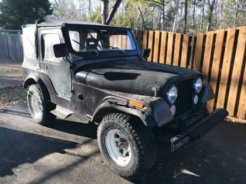 1983 Jeep CJ-5 for sale at Classic Car Deals in Cadillac MI