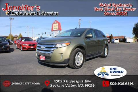 2013 Ford Edge for sale at Jennifer's Auto Sales in Spokane Valley WA