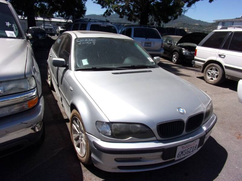 2003 BMW 3 Series for sale at Mendocino Auto Auction in Ukiah CA