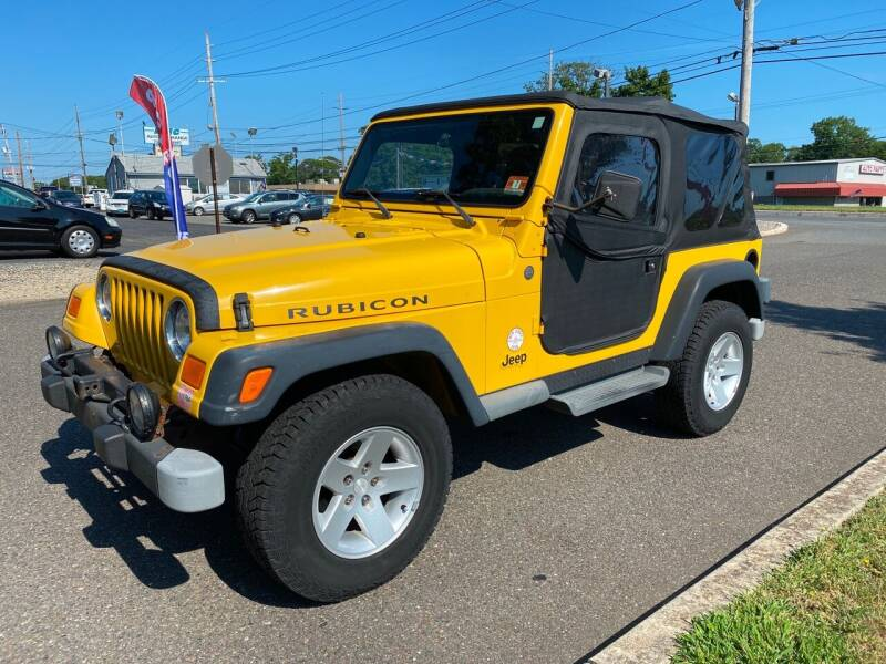 2004 Jeep Wrangler for sale at CANDOR INC in Toms River NJ