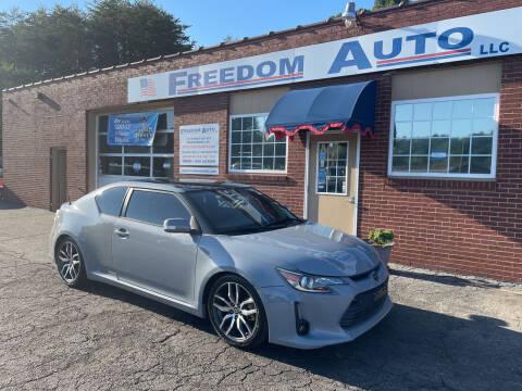 2015 Scion tC for sale at FREEDOM AUTO LLC in Wilkesboro NC
