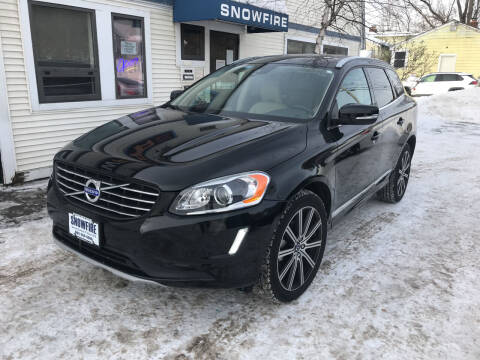 2017 Volvo XC60 for sale at Snowfire Auto in Waterbury VT