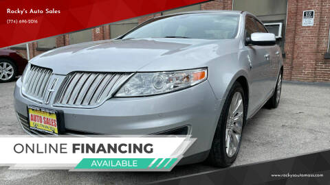 2009 Lincoln MKS for sale at Rocky's Auto Sales in Worcester MA