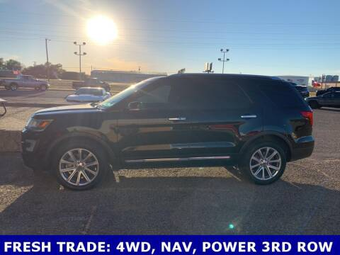2017 Ford Explorer for sale at STANLEY FORD ANDREWS in Andrews TX