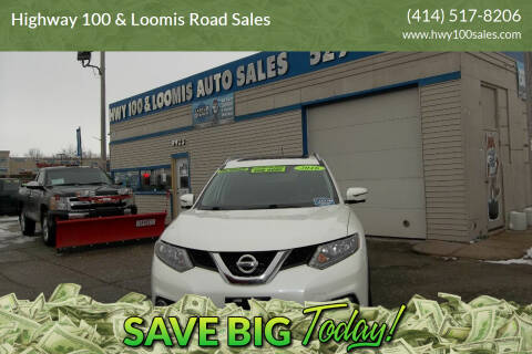 2016 Nissan Rogue for sale at Highway 100 & Loomis Road Sales in Franklin WI