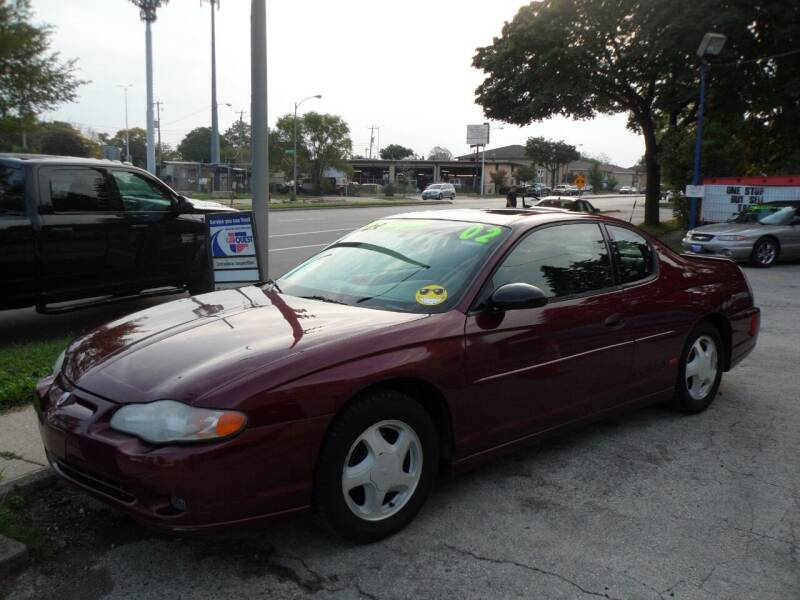 2002 Chevrolet Monte Carlo for sale at Weigman's Auto Sales in Milwaukee WI