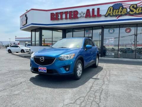 2013 Mazda CX-5 for sale at Better All Auto Sales in Yakima WA