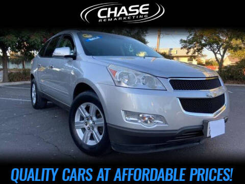 2010 Chevrolet Traverse for sale at Chase Remarketing in Fremont CA