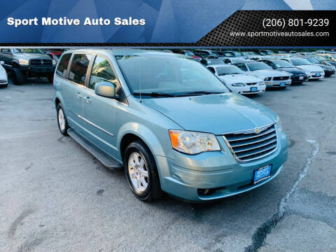 2010 Chrysler Town and Country for sale at Sport Motive Auto Sales in Seattle WA