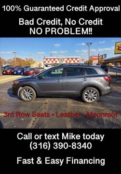 2015 Mazda CX-9 for sale at Affordable Mobility Solutions, LLC - Standard Vehicles in Wichita KS