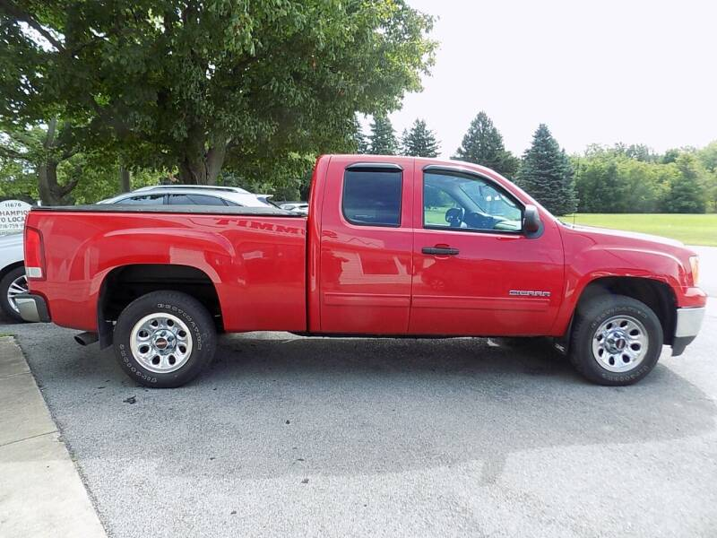2012 GMC Sierra 1500 for sale at SUMMIT TRUCK & AUTO INC in Akron NY