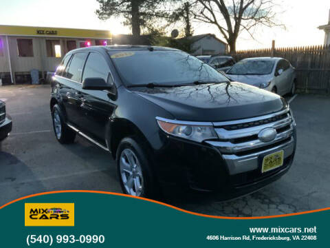 2013 Ford Edge for sale at Mix Cars in Fredericksburg VA