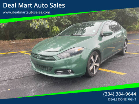 2015 Dodge Dart for sale at Deal Mart Auto Sales in Phenix City AL