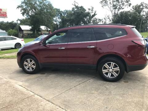 2017 Chevrolet Traverse for sale at A & B Auto Sales of Chipley in Chipley FL