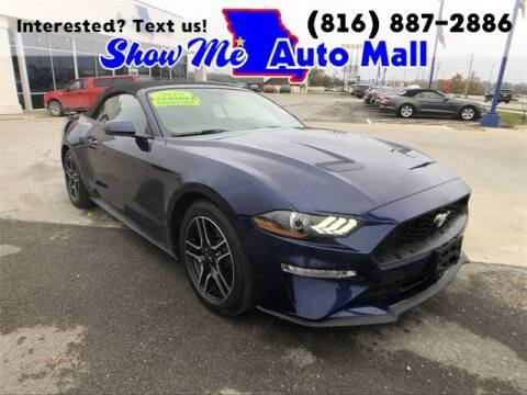 2018 Ford Mustang for sale at Show Me Auto Mall in Harrisonville MO