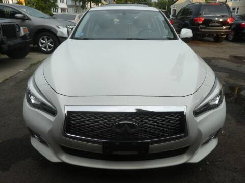 2015 Infiniti Q50 for sale at Wheels and Deals in Springfield MA