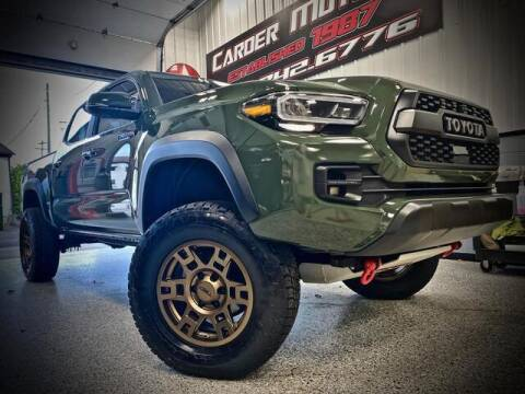 2020 Toyota Tacoma for sale at Carder Motors Inc in Bridgeport WV