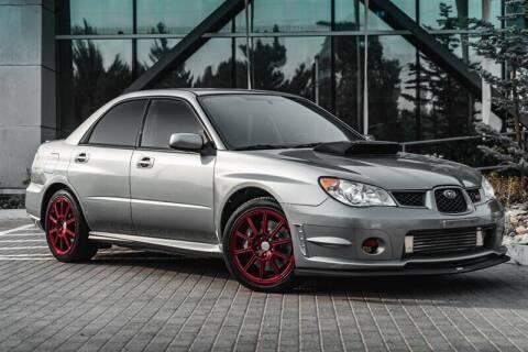 2007 Subaru Impreza for sale at MUSCLE MOTORS AUTO SALES INC in Reno NV