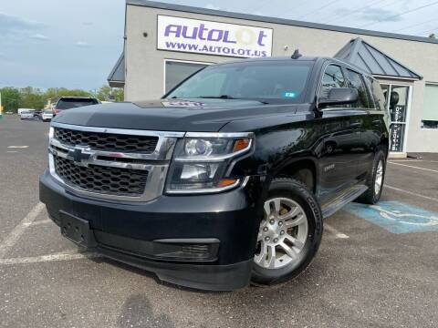 2016 Chevrolet Tahoe for sale at AUTOLOT in Bristol PA