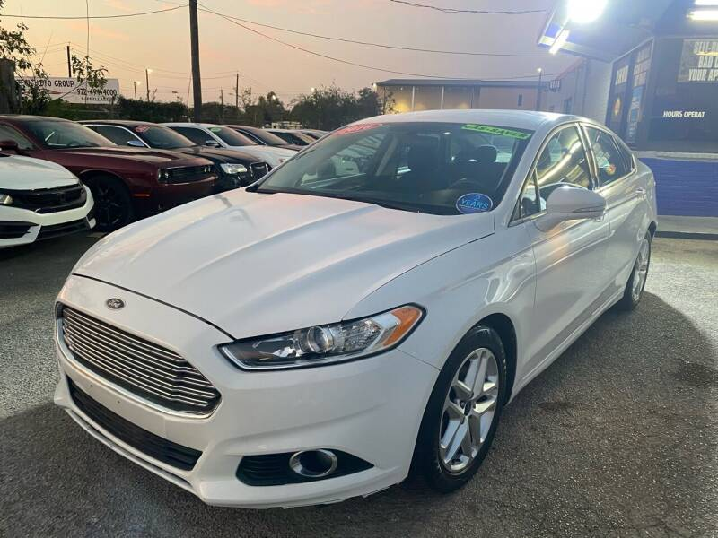 2016 Ford Fusion for sale at Cow Boys Auto Sales LLC in Garland TX