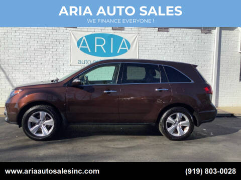 2011 Acura MDX for sale at ARIA  AUTO  SALES in Raleigh NC
