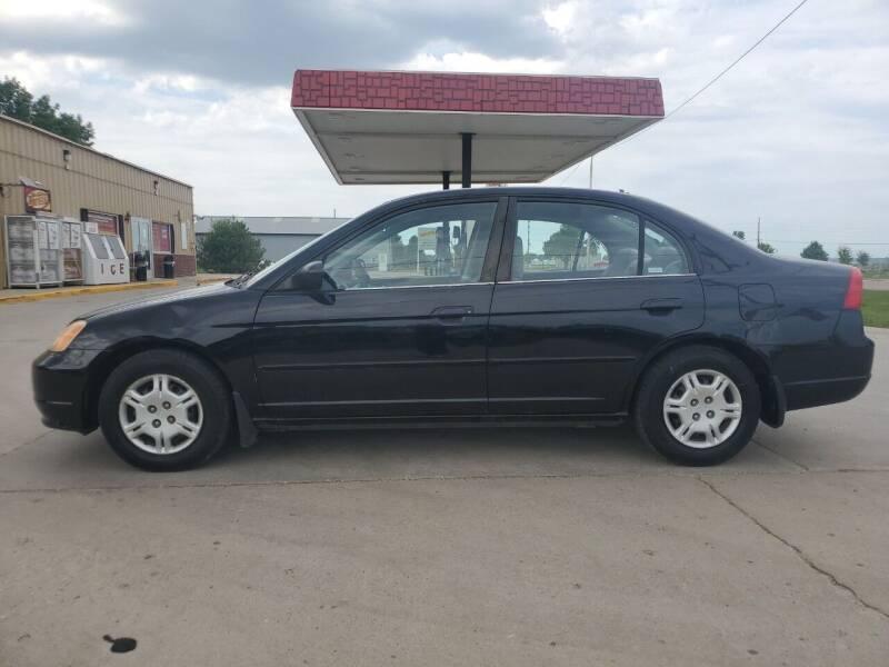 2002 Honda Civic for sale at Dakota Auto Inc. in Dakota City NE