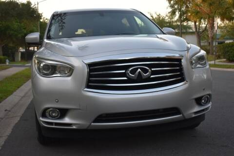 2013 Infiniti JX35 for sale at Monaco Motor Group in Orlando FL
