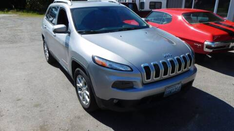 2014 Jeep Cherokee for sale at M & M Auto Sales LLc in Olympia WA