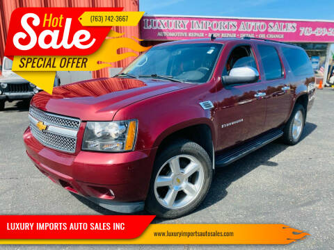 2008 Chevrolet Suburban for sale at LUXURY IMPORTS AUTO SALES INC in North Branch MN