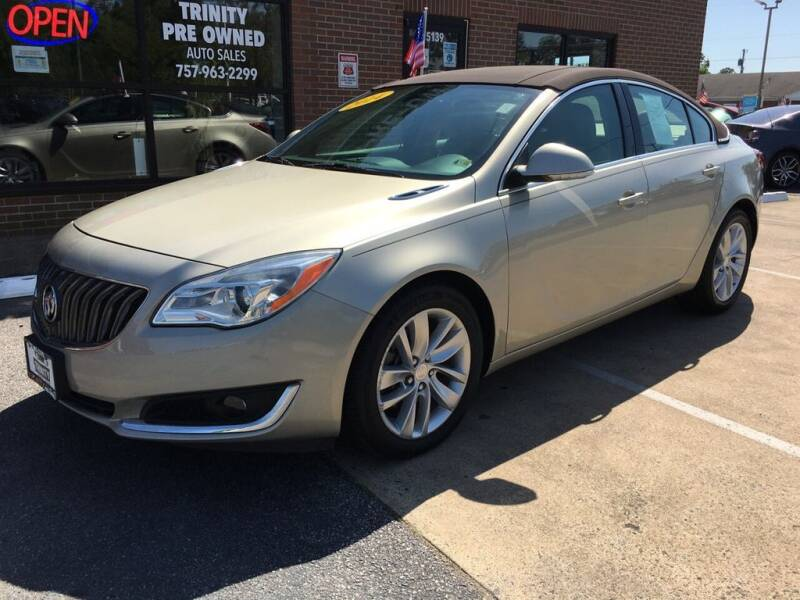 2014 Buick Regal for sale at Bankruptcy Car Financing in Norfolk VA