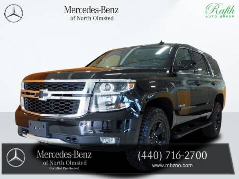 2019 Chevrolet Tahoe for sale at Mercedes-Benz of North Olmsted in North Olmstead OH