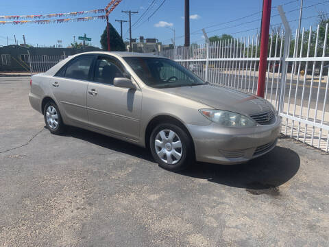 2005 Toyota Camry for sale at Robert B Gibson Auto Sales INC in Albuquerque NM