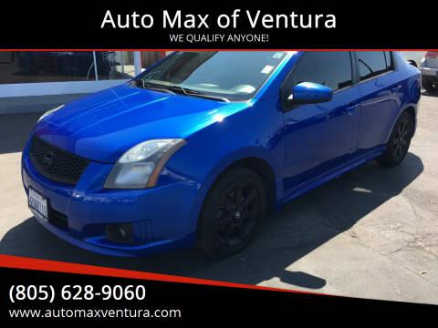 2012 Nissan Sentra for sale at Auto Max of Ventura in Ventura CA